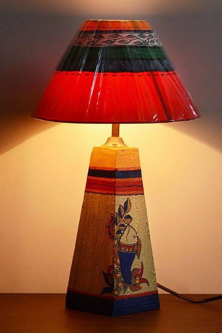 19 best unravel india lamps images on pinterest hand painted hand painted wooden lamp from ui geotapseo Gallery