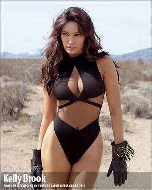 Kelly Brook is listed (or ranked) 1 on the list The Hottest Full Figured Women