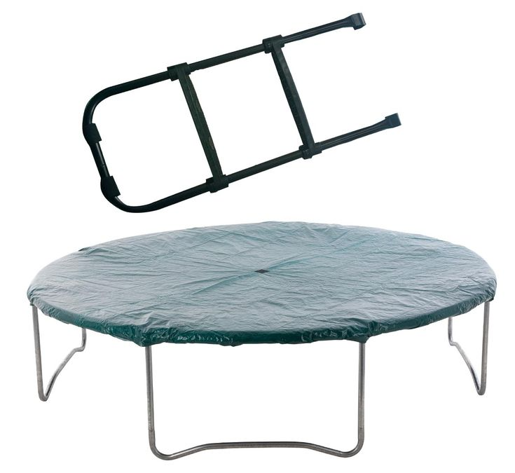 8ft Trampoline Cover And Trampoline Ladder