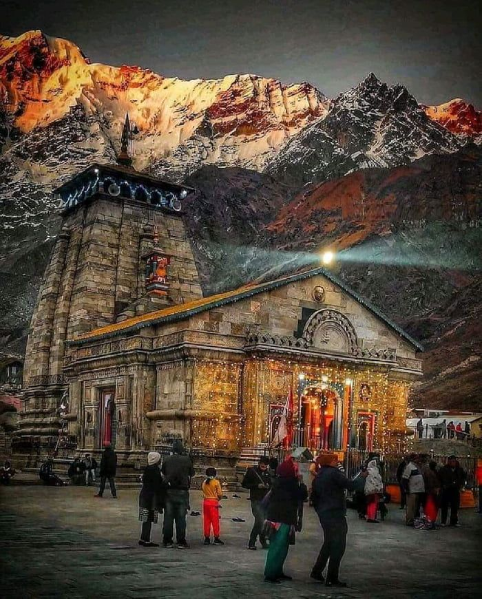 Kedarnath Temple, India In 2020