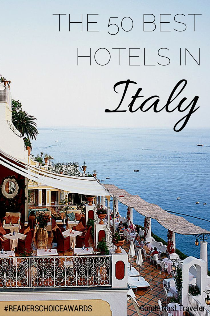 The 50 Best Hotels in Italy: Readers' Choice Awards 2014