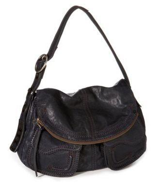 Lucky Brand Leather Stash Bag