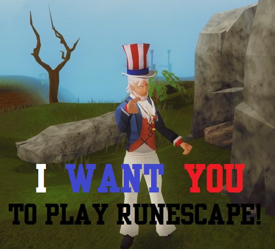 Happy 4th of July! Head West of Varrock and find our celebration