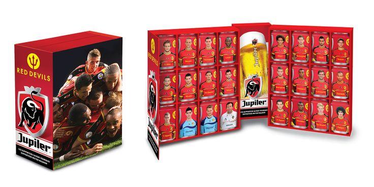 Jupiler - Rode duivels - Worldcupbox
