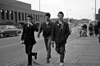 Peterborough punks early 80s