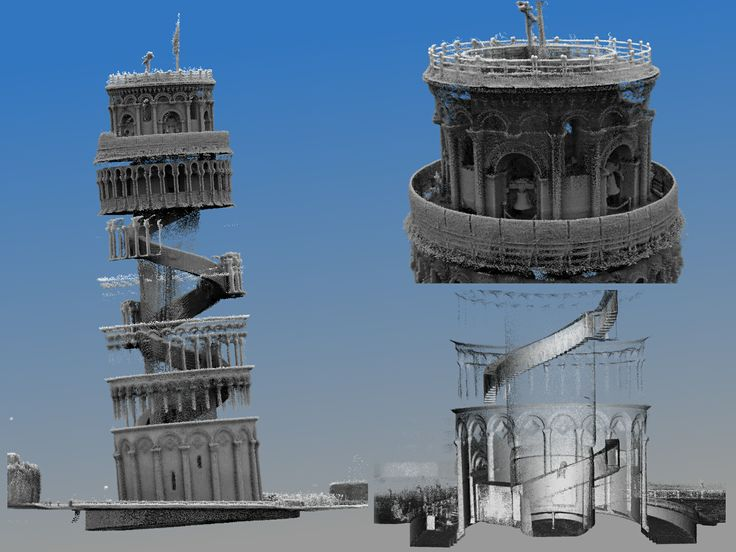We've created the first ever interior 3D map of Italy's iconic Leaning Tower of Pisa by using a breakthrough mobile laser mapping system.