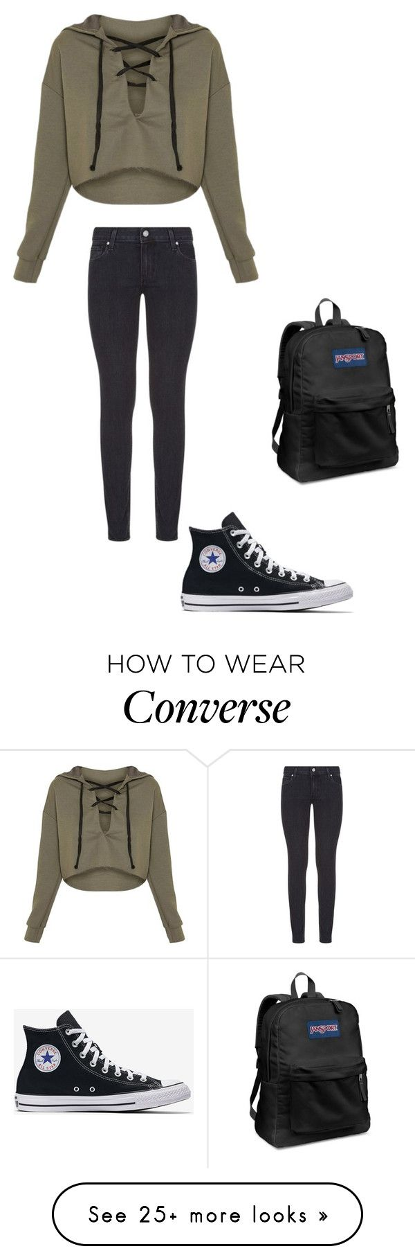 """Chapter 2~Gaby"" by anahi5sos on Polyvore featuring Paige Denim and JanSport"