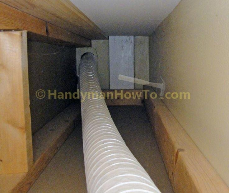 Bathroom Exhaust Fan Vent Pipe Size