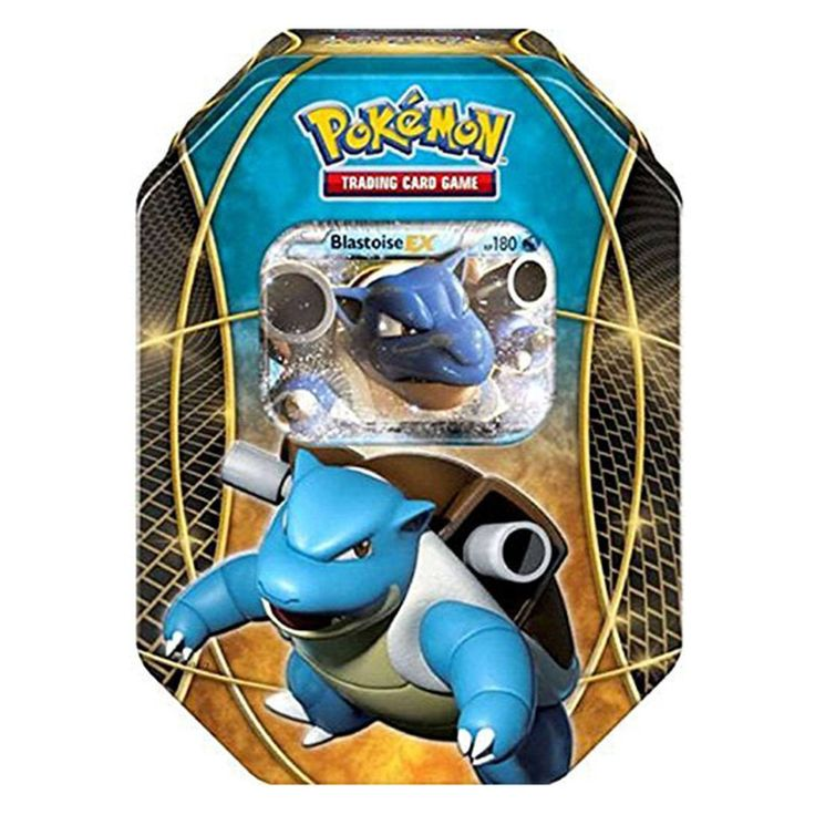 Pokemon Best Of Pokemon-EX Blastoise Tin Trading Card Game