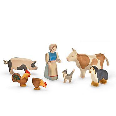 Holz-Spielzeug, Bauernhof