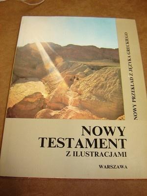 Polish Illustrated New Testament / Nowy Testament / Z Ilustracjami / Warszawa