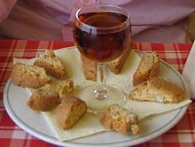 Almond Biscotti - a traditional Italian cookie