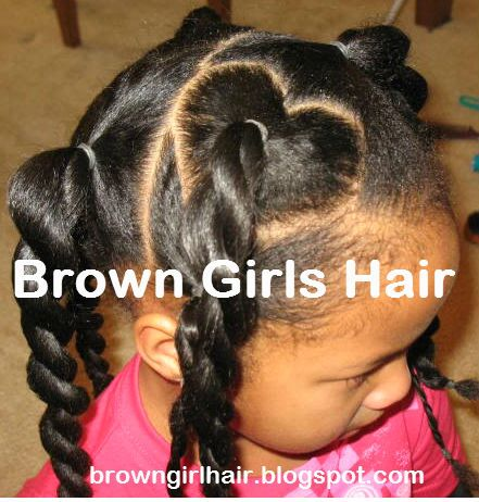Cute Valentines Day Hairstyle: Don't even have a lil girl but this is adorable!