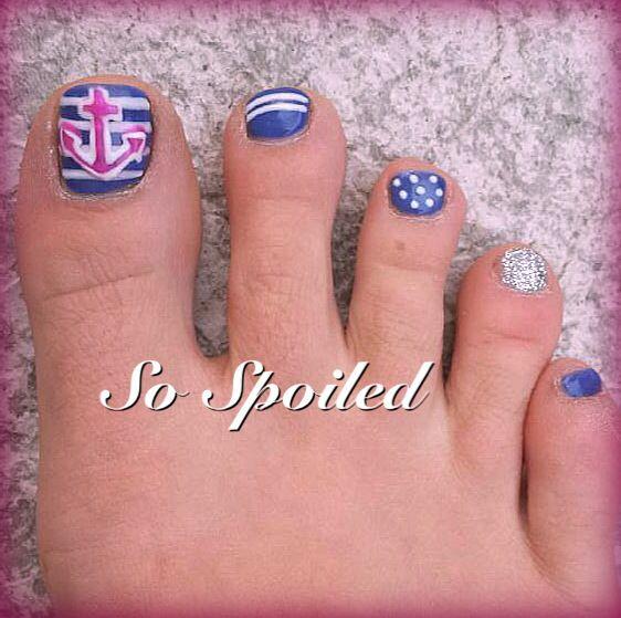 Toe Nail Designs For Summer 2014 Summer Toe Nail Designs 2014