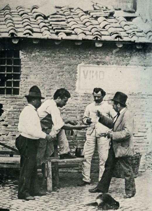 "From the ""Roma sparita"" website. Ca.1875."
