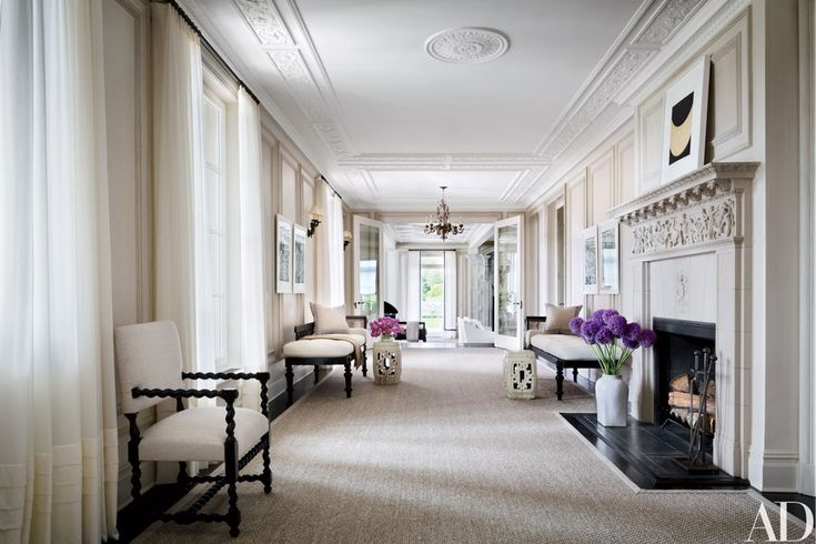 See How Vince Camuto Restored His Jazz Age Manor In The Hamptons In 2021 Long Island House Villa Maria French House