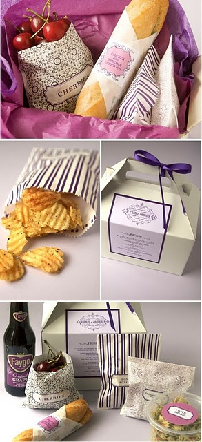 boxed lunch ideas...