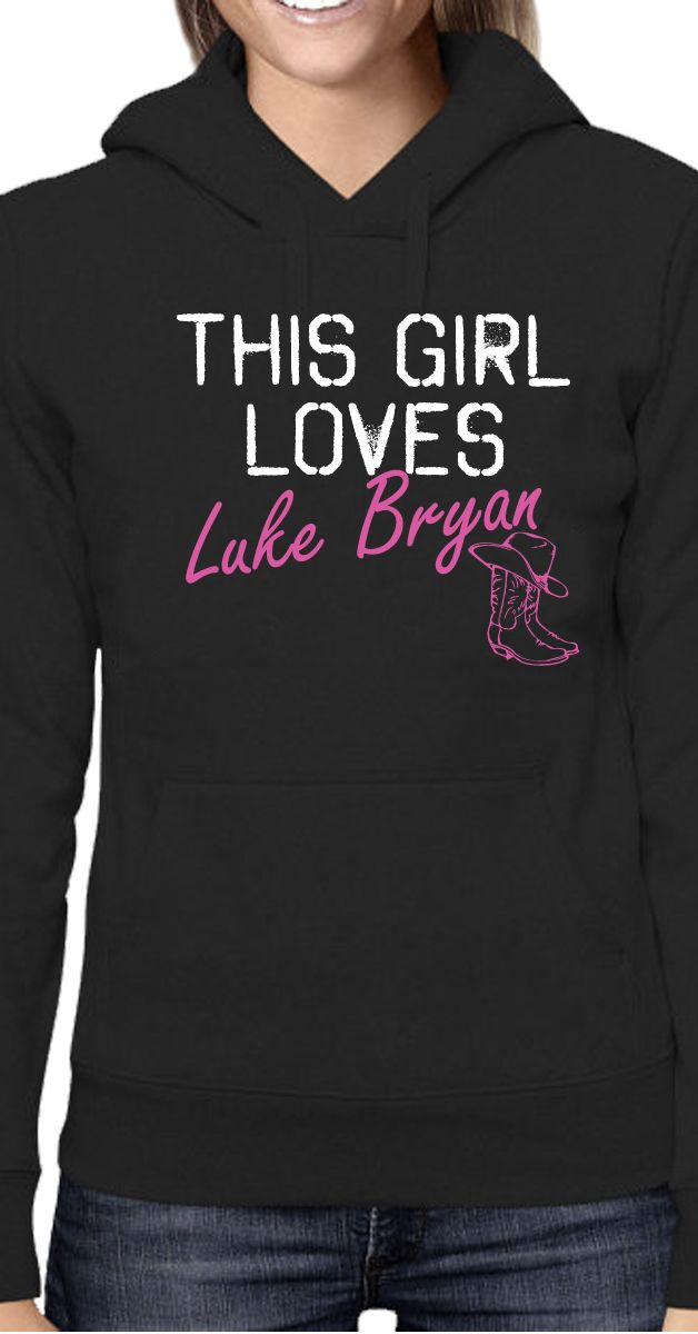 Love Luke Bryan Shirt - Women's tank top and fitted shirts - Bella Flowy and Hoodie Available - Click Image to Purchase #lukebryan #countrygirl #countrymusic #farmgirl