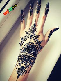 Pakistan traditional henna designs.
