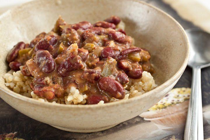 Red Beans & Garlic Brown Rice