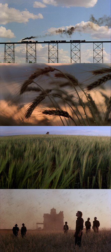 Days of Heaven (1978) directed by Terrence Malick.