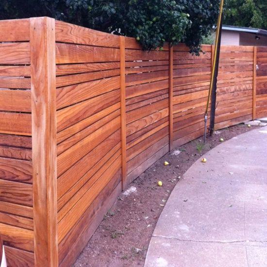 Horizontal Fence Diy: 20 Best Horizontal Wood Fences Images On Pinterest