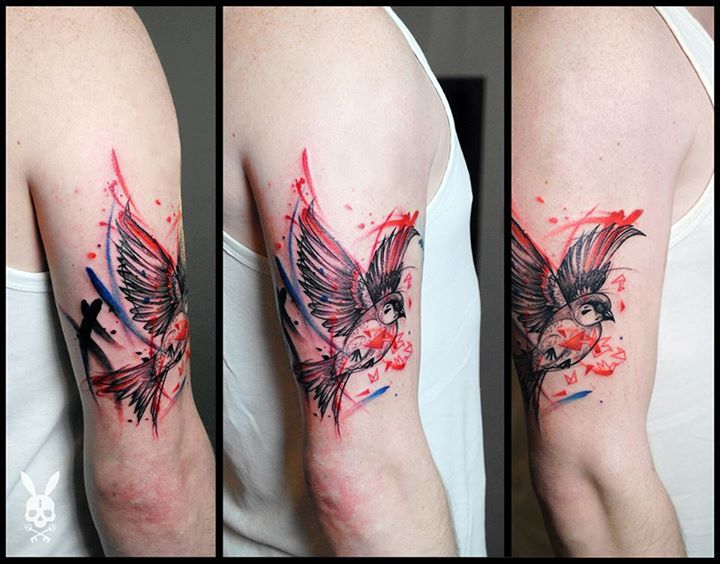 Bird Tattoo by Kati Berinkey