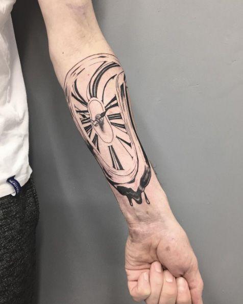 Salvador Dali Tattoo Dali Tattoo: 1137 Beste Afbeeldingen Van TattooForAWeek Blog Pictures