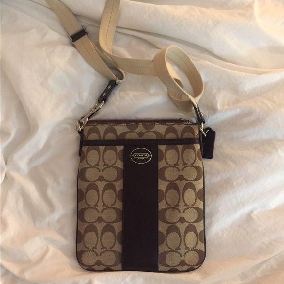 Coach Bags - Coach Swingpack in signature fabric