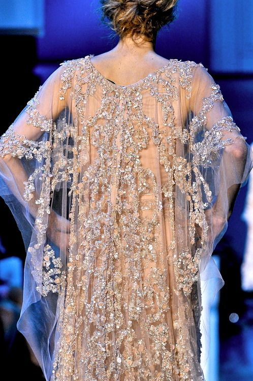 Elie Saab Couture F/W 2011: Couture Details, Elie Saab Fall, Gowns Dresses, Zsa Zsa Bellagio, Style, Cap, Beautiful, Elie Saab Couture, Haute Couture