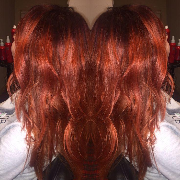 Рыжее очарование  #чи #окрашивание #окрашиваниеволос #chi #chihaircare #hair #haircolor #cooperhair #рыжиеволосы  Запись 0913088888