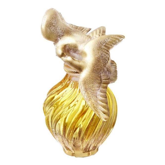 L'AIR DU TEMPS L'Ecrin des Colombes - Nina Ricci  Flacone da collezione in cristallo Lalique. Limited Edition 2015 numerata e firmata, prodotta in soli 74 esemplari unici lavorati a mano.