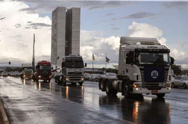 JORNAL O RESUMO: Caminhoneiros decidem retomar greve em todo o Bras...