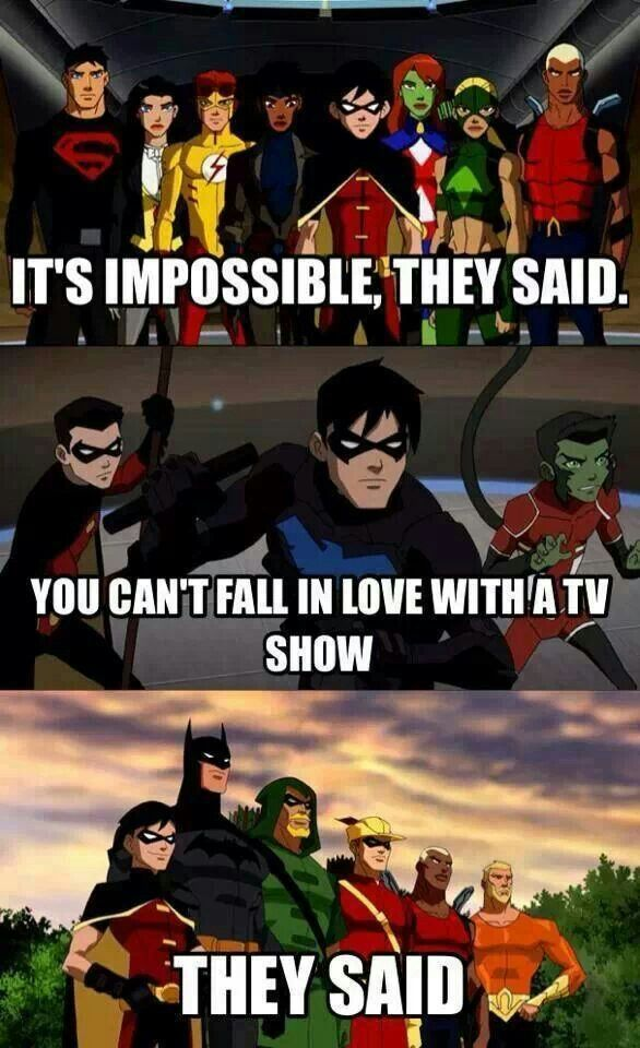 I JUST ABOUT CRY AT THE THOUGHT OF KID FLASH BECAUSE OF THIS SHOW!