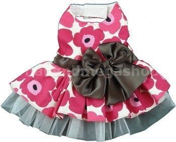 dog dress. I wish my dog was a girl. and small lol.