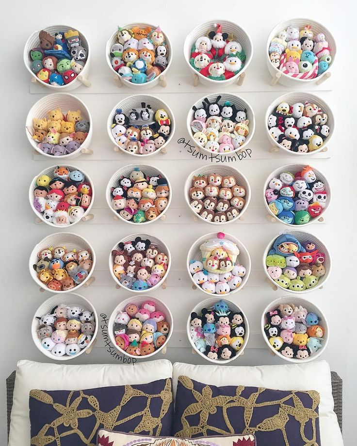 A beautiful tsum tsum display idea!