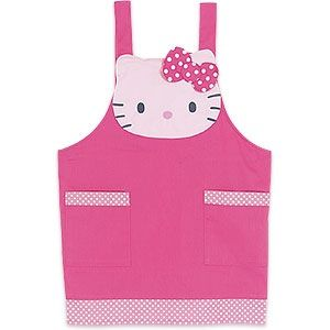 hello kitty apron   ... the kitty-ness of your creations by wearing this Hello Kitty apron