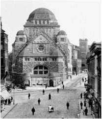 My grandmothers synagogue - Neue Synagoge (New Synagogue) in Essen, Germany. Now the Alte Synagoge (Old Synagogue). c. 1914