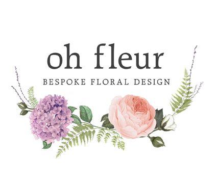 Pretty floral logo