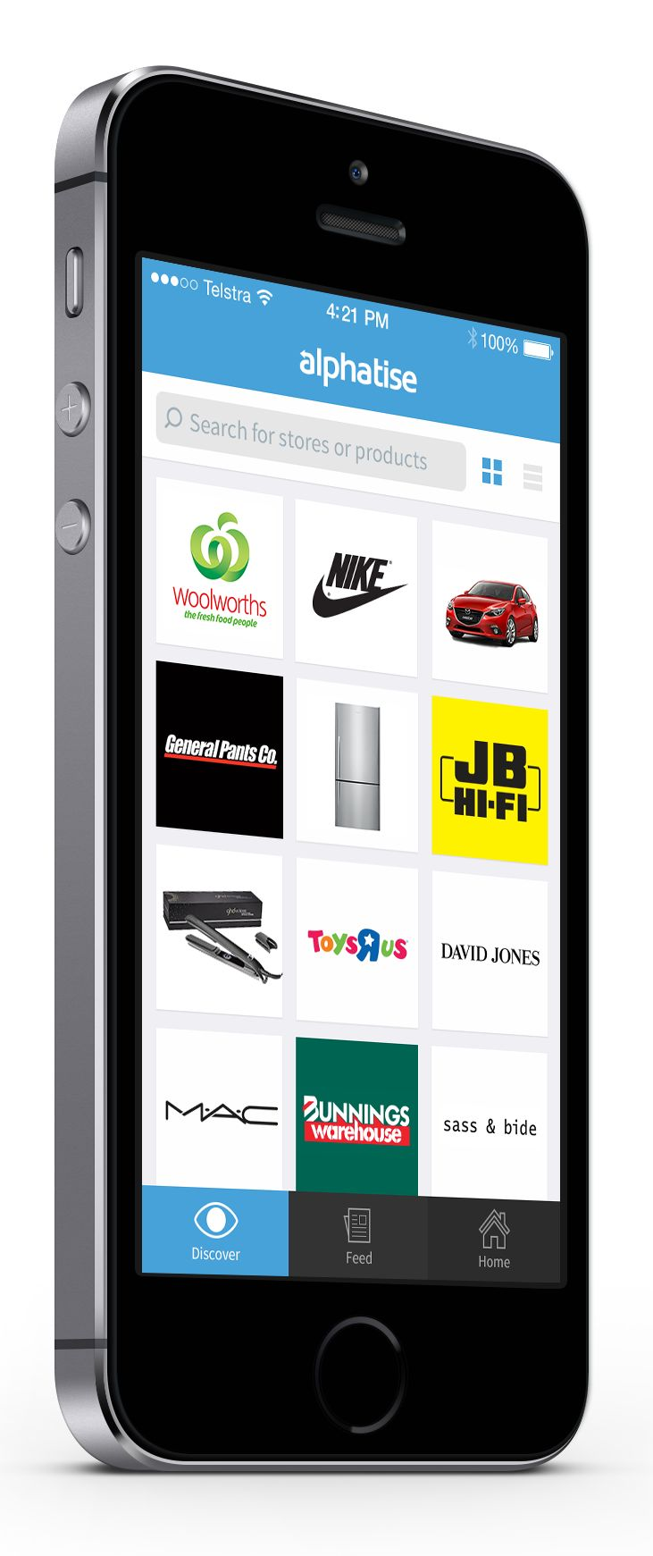 Alphatise offers shoppers access to 40,000 stores (both major retailers and local boutiques), and over 10,000,000 products, and if you can't find something, you can add it to your wish list yourself. #alphatise #shopping #app