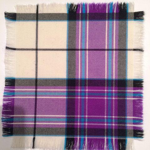 Purple McKellar - 100% Wool Tartan Fabric – Highland In Style