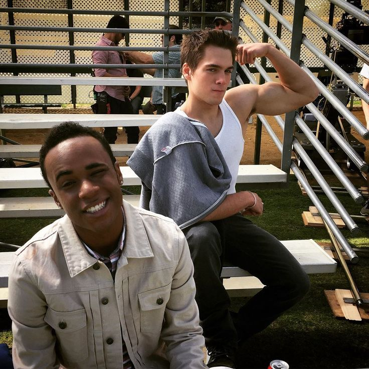 Khylin Rhambo and Dylan Sprayberry