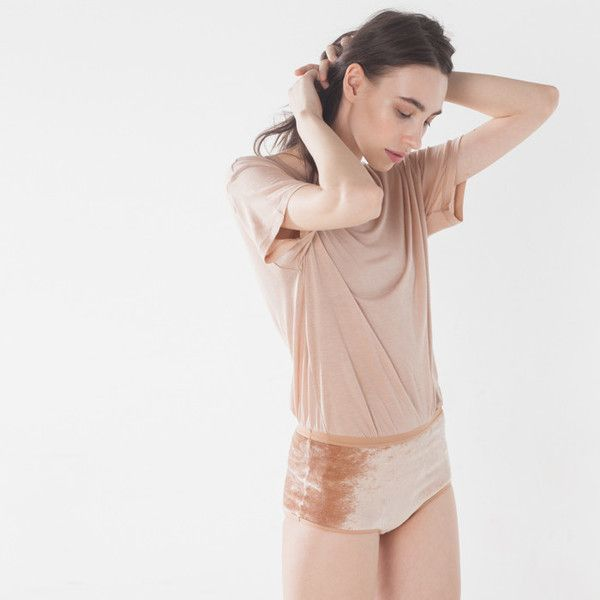 Luxurious AND casual? Nude underwear by European label Baserange.