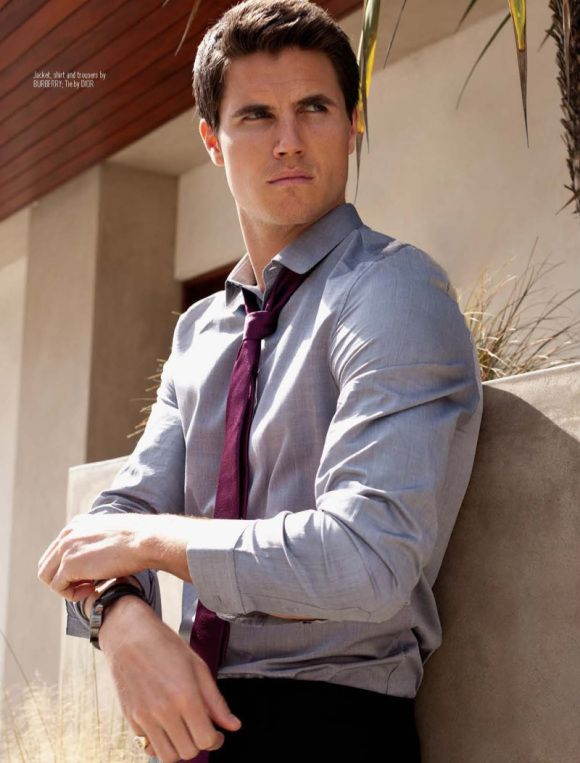 Robbie Amell as Ethan Blackwood? Red by Alyxandra Harvey