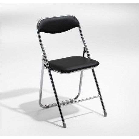 Combo Fällbar stol - Krom med svart sits Kvantitet 150 Totalt: 44 250 kr