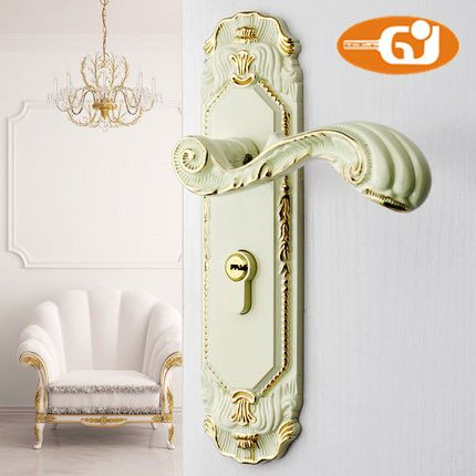 Europe Classic door handle room mortise lock fullset ivory color - ICON2 Luxury Designer Fixures  Europe #Classic #door #handle #room #mortise #lock #fullset #ivory #color