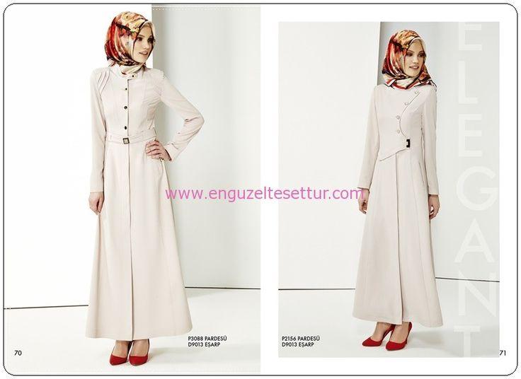 nihan giyim 2014 2015 ilkbahar yaz koleksiyonu look book 028 tesettür kapalı giyim kataloğu