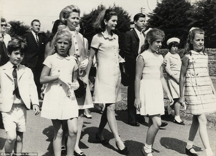 Personal mementos: The pictures, which feature the former First Lady (center), were owned ...