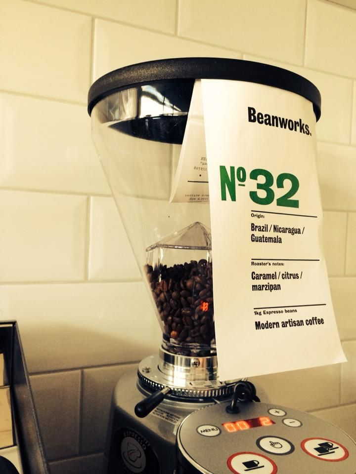 Our No.32 ready to create a perfect artisan coffee