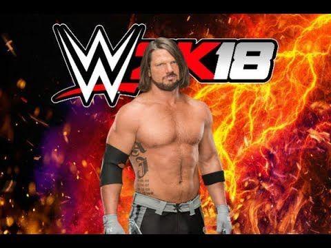 Wwe 2k18 AJ Styles Entrance as United States Champion